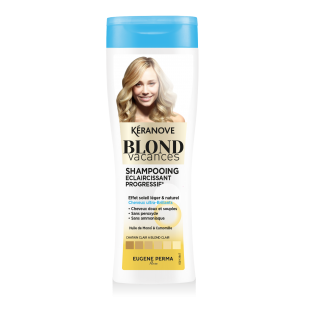 Keranove (Blond Vacances) Шампунь для естественного осветления волос 250ml