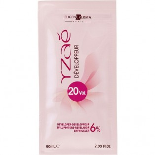 Yzae Окислитель краски для волос 20 VOL (6 %) 60ml
