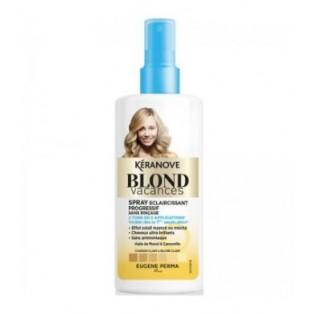 Keranove (Blond Vacances) Блонд Ваканс Спрей Эффект выгоревших на солнце  волоc Шатуш 125ml