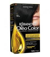 Keranove Крем-краска для волос Oleo Color №1 (черный)