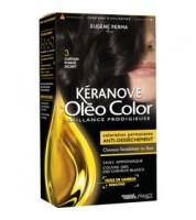 Keranove Крем-краска для волос Oleo Color №3 (темный шатен)