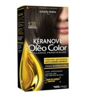 Keranove Крем-краска для волос Oleo Color №4*35 (шатен золотисто-красный)