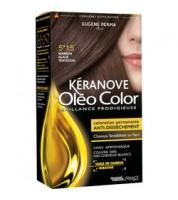 Keranove Крем-краска для волос Oleo Color №5*15 (светлый пепельный шатен)
