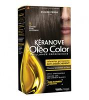 Keranove Крем-краска для волос Oleo Color №5 (светлый шатен)