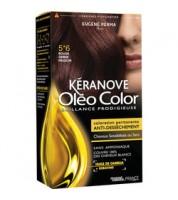 Keranove Крем-краска для волос Oleo Color №5*6 (светлый шатен красный)
