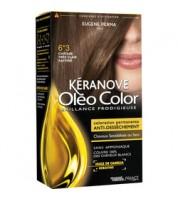 Keranove Крем-краска для волос Oleo Color №6*3 (светлый шатен золотистый)