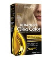 Keranove Крем-краска для волос Oleo Color №9*13 (светлый блондин пепельный)