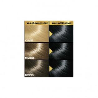 Перманентная крем-краска для волос Keranove Oleo Color №1 (черный)