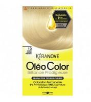 Keranove Крем-краска для волос Oleo Color №10 (блондин платиновый)