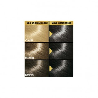 Перманентная крем-краска для волос Keranove Oleo Color №3 (темный шатен)