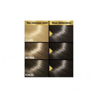 Перманентная крем-краска для волос Keranove Oleo Color №4 (шатен)