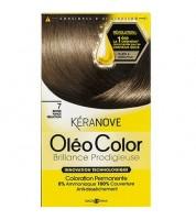 Keranove Крем-краска для волос Oleo Color №7 (темный блондин)