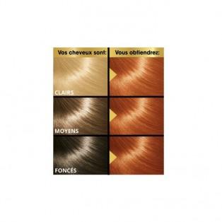 Перманентная крем-краска для волос Keranove Oleo Color №7*4 (блондин медный)