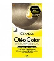 Keranove Крем-краска для волос Oleo Color №8 (блондин)