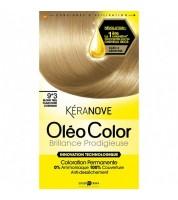 Keranove Крем-краска для волос Oleo Color №9*3 (очень светлый блондин)