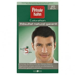 Petrole Hahn Краска для волос для мужчин №20 (брюнет) 90ml