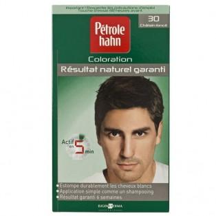 Petrole Hahn Краска для волос для мужчин №30 (темный шатен) 90ml