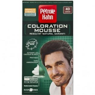 Petrole Hahn Краска-мусс для волос мужская №40 (шатен) 46ml