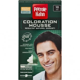Petrole Hahn Краска-мусс для волос мужская №10 (черный) 46ml