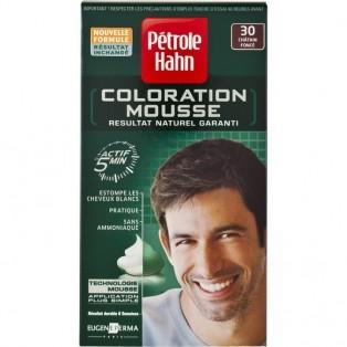 Petrole Hahn Краска-мусс для волос мужская №30 (темный шатен) 46ml