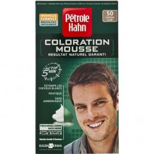 Petrole Hahn Краска-мусс для волос мужская №50 (светлый шатен) 46ml