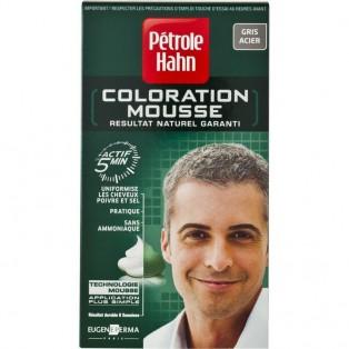 Petrole Hahn Краска-мусс для волос мужская серебряная 46ml