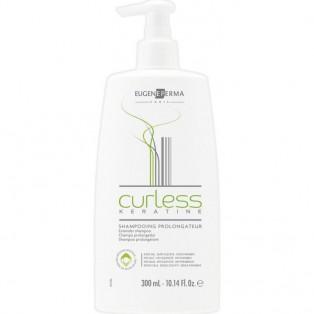 Curless Шампунь для кератинового восстановления и выпрямления волос 300ml