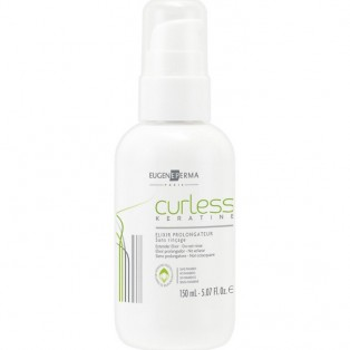 Curless Бальзам для кератинового восстановления и выпрямления волос 150ml
